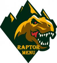 Raptor Menu